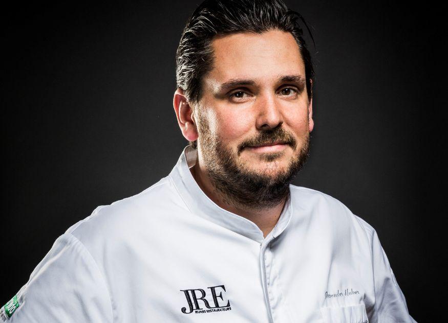 Alexander Huber ist seit Januar 2019 Präsident der Jeunes Restaurateurs (JRE) und Küchenchef des Restaurants Huberwirt in Pleiskirchen