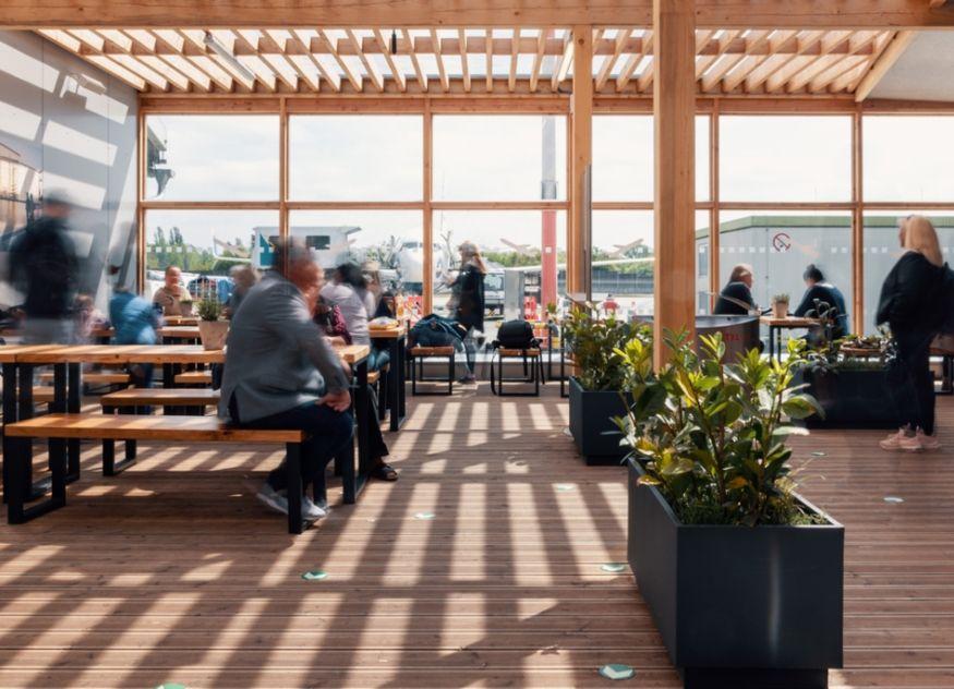 Hermann's Beer Garden Flughafen Berlin-Tegel