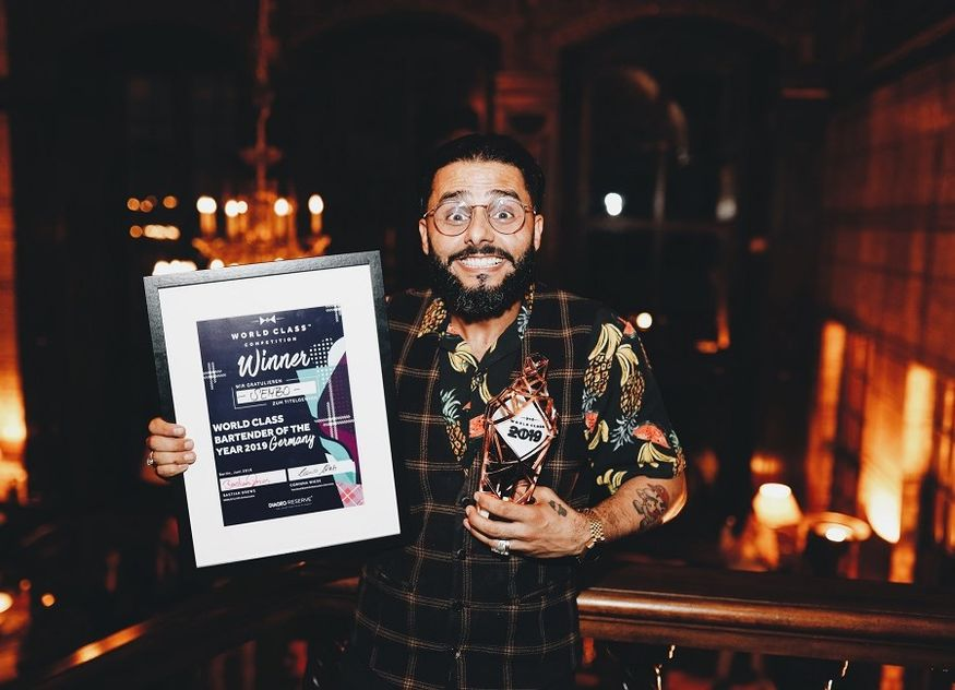 Sembo Amirpour World Class Bartender of the Year 2019 Germany