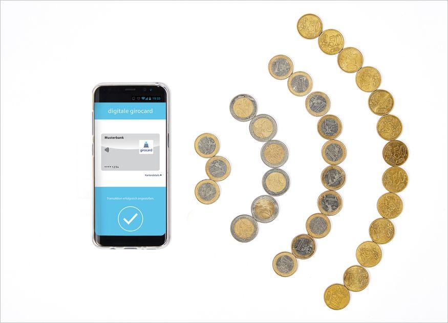 Die meisten Transaktionen wurden im Jahr 2020 mit Karte oder kontaktlos getätigt