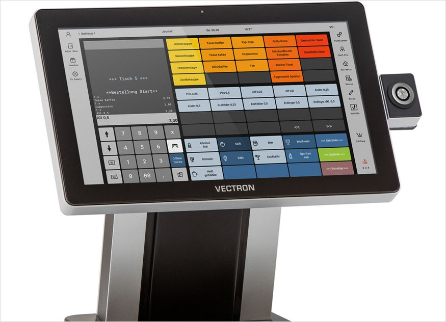Vectron Kasse Software Gastronomie POS Touch 15 II Wide