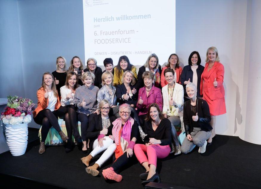 Frauennetzwerk-Foodservice Veranstaltung Team Frankfurt