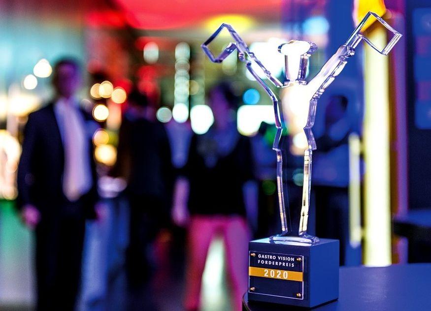 Gastro Vision Förderpreis 2020 Pokal