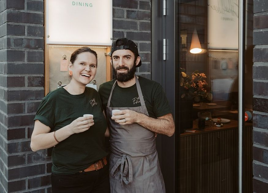 Rebecca und Jared Bassoff Gastronomen Berlin