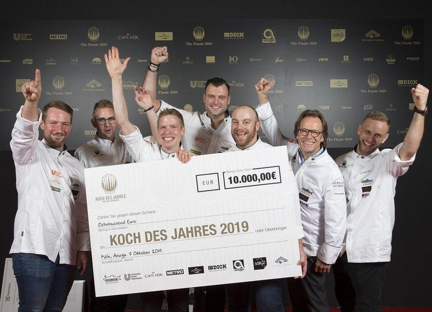 Koch des Jahres Gewinner 2019 Jury