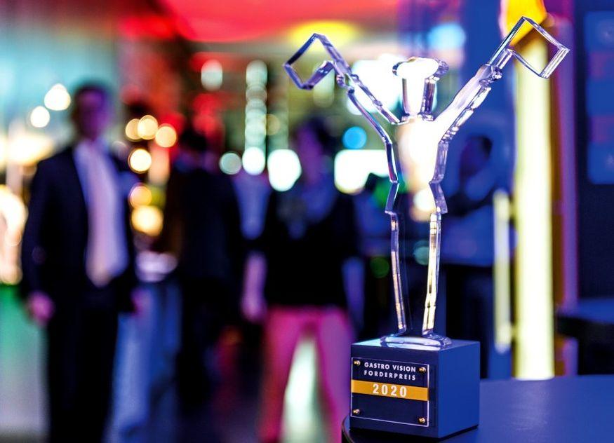 Gastro Vision Förderpreis Pokal