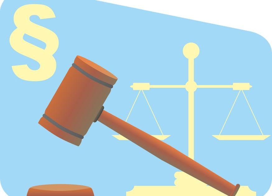Hammer Gesetz Jura Recht