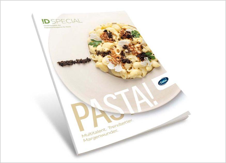 Debic Pasta Rezeptbroschüre