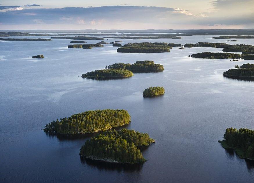 Finnland See Landschaft