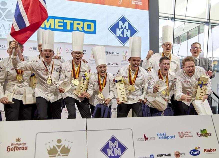IKA/Olympiade der Köche Intergastra Norwegen