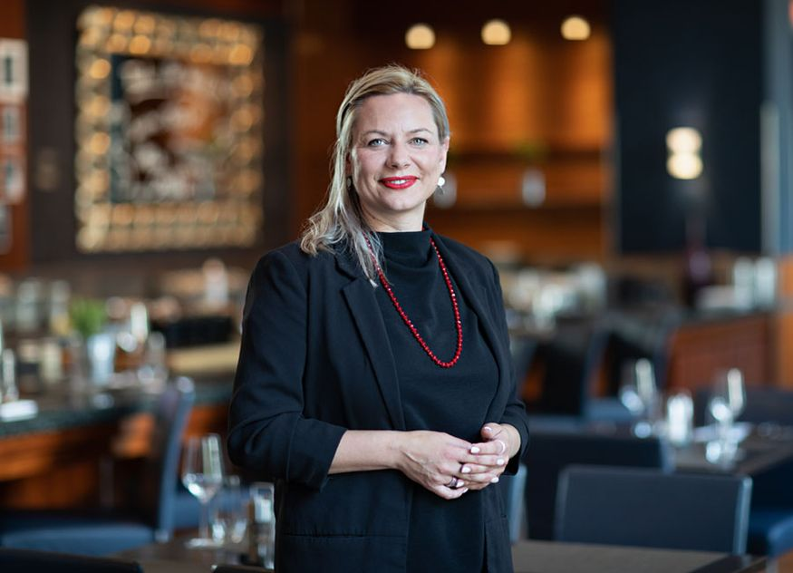 Melanie Klatt Midtown Grill Berlin Marriot Hotel