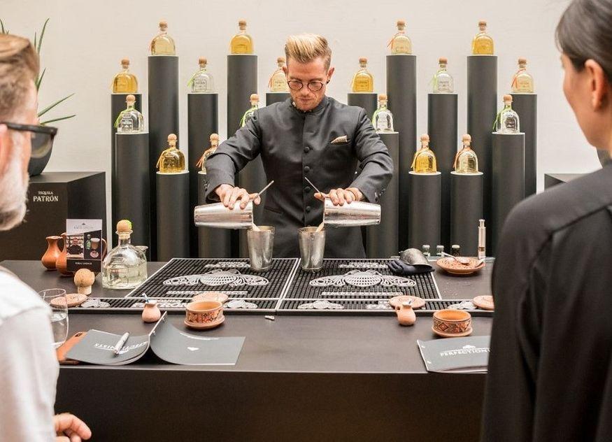 Patrón Perfectionists Cocktail Competition Gastronomie Wettbewerb Tobias Lindner Jury Gewinner