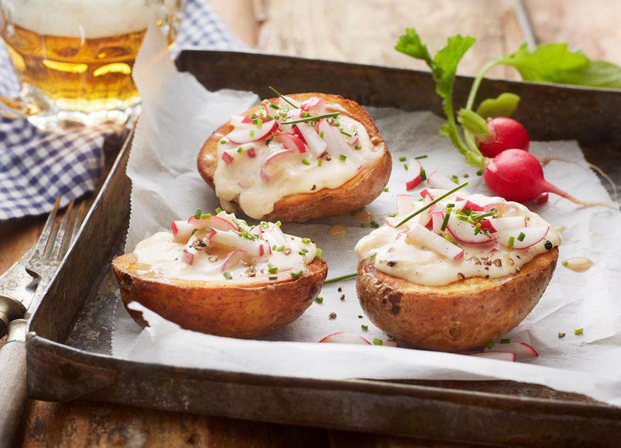 Aviko Potato Skins Gastronomie Oktoberfest Bayern Ofenkartoffel ausgehöhlt