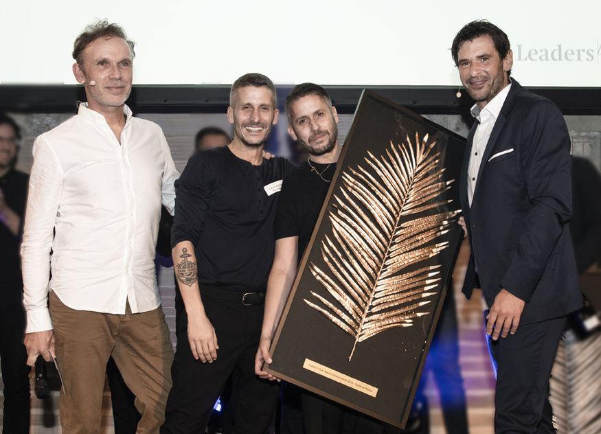 Leaders Club Germany Gastronomie Goldene Palme Gewinner David James Ardinast Bar Shuka Frankfurt Main Annette Weiske