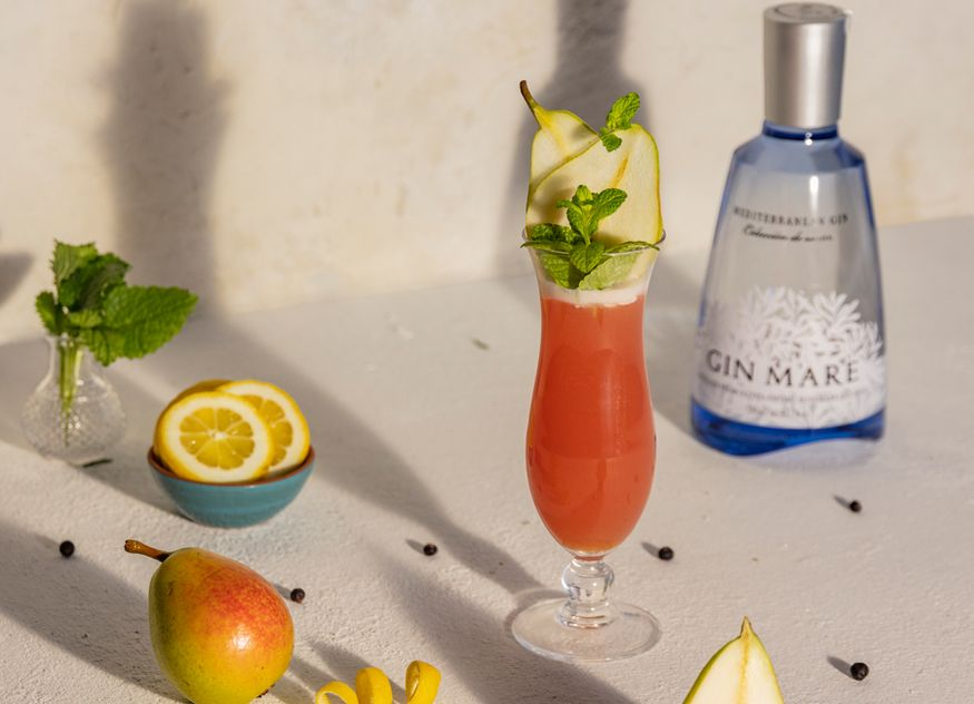 Global Premium Brands Gastronomie Gin Mare Cocktail Maremory Diego Macedo
