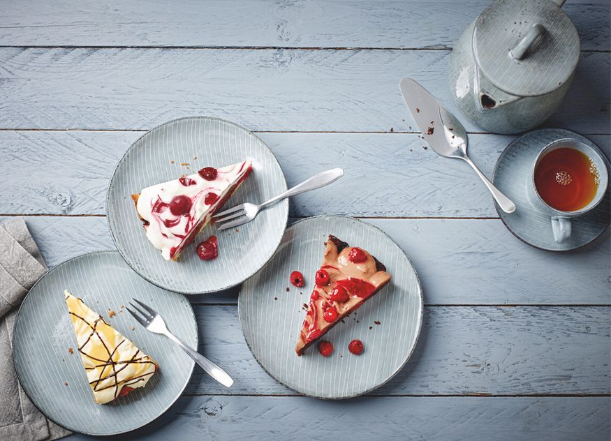 Froneri Schöller Backwaren Sahne-Cake Kreationen drei Sorten