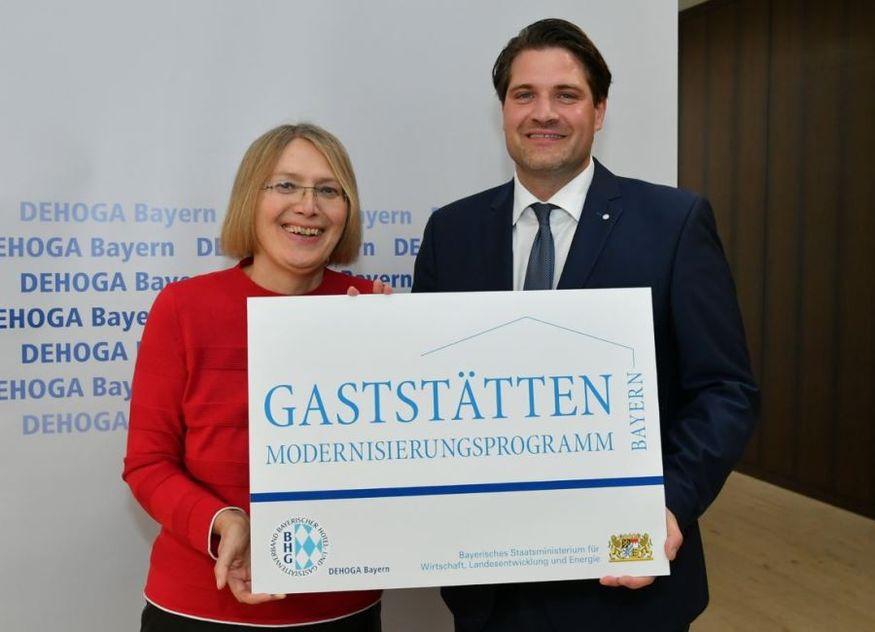 Dr. Sabine Jarothe Dr. Thomas Geppert DEHOGA Bayern
