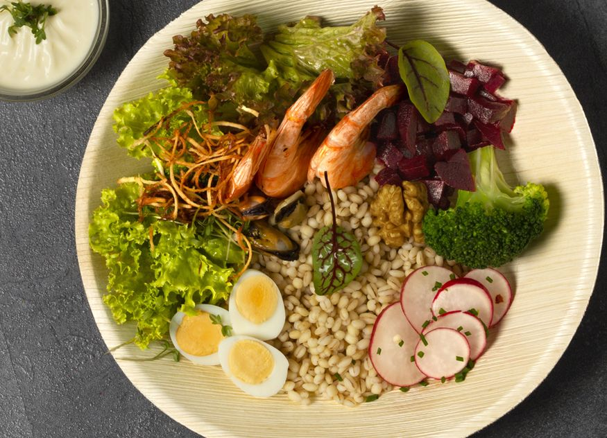 Sea Bowl mit Gerste Bonduelle Food Service