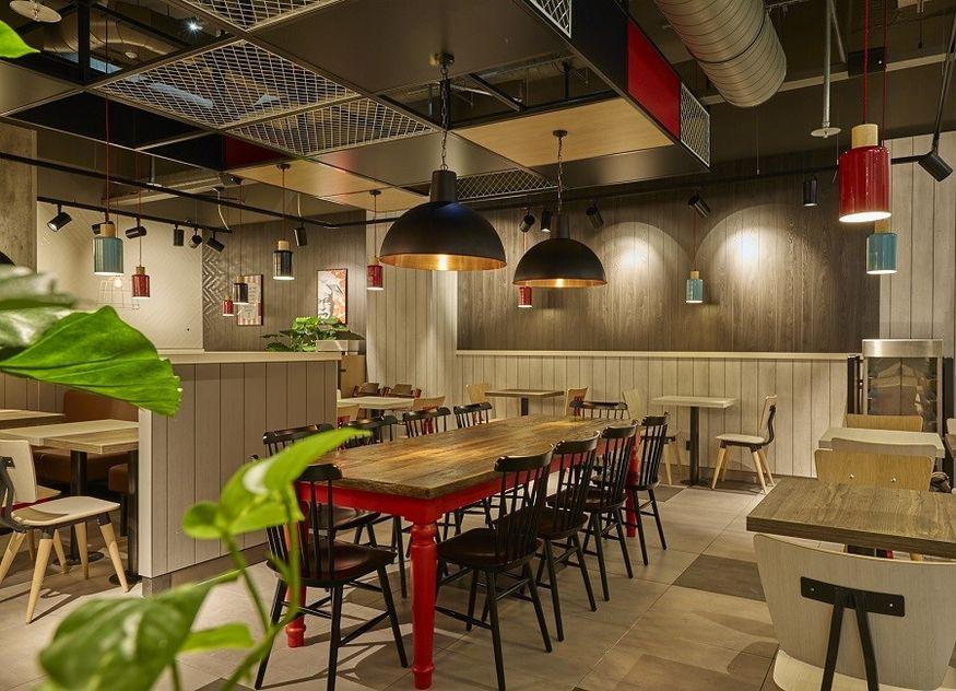 KFC Standort Bonn Store Design