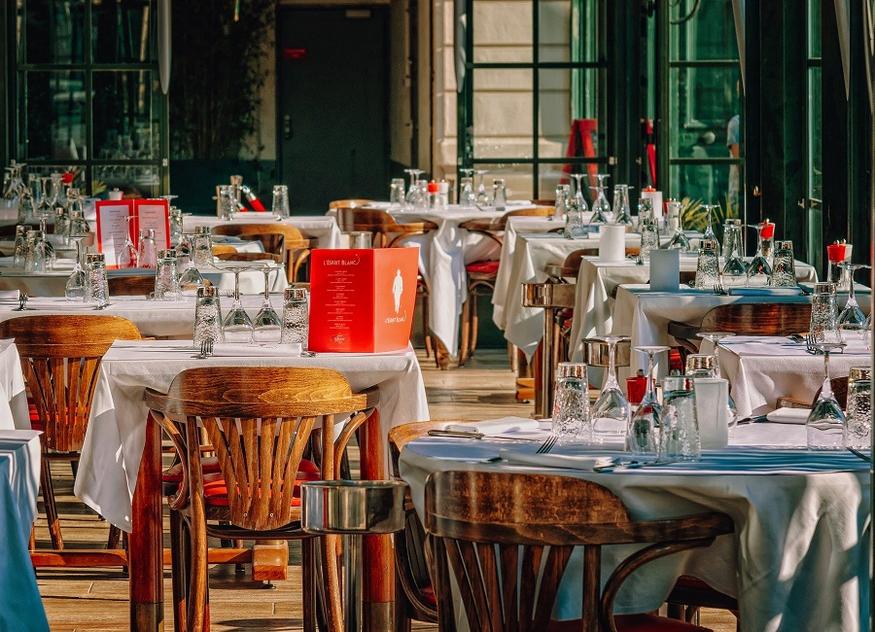 Restaurant Tische Stühle