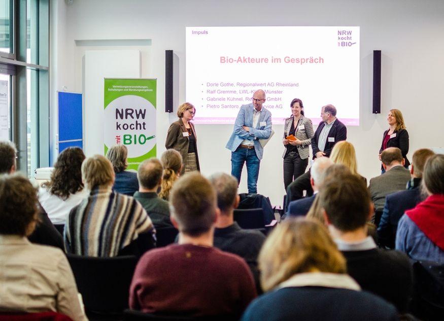 NRW kocht mit Bio Duisburg Plenum