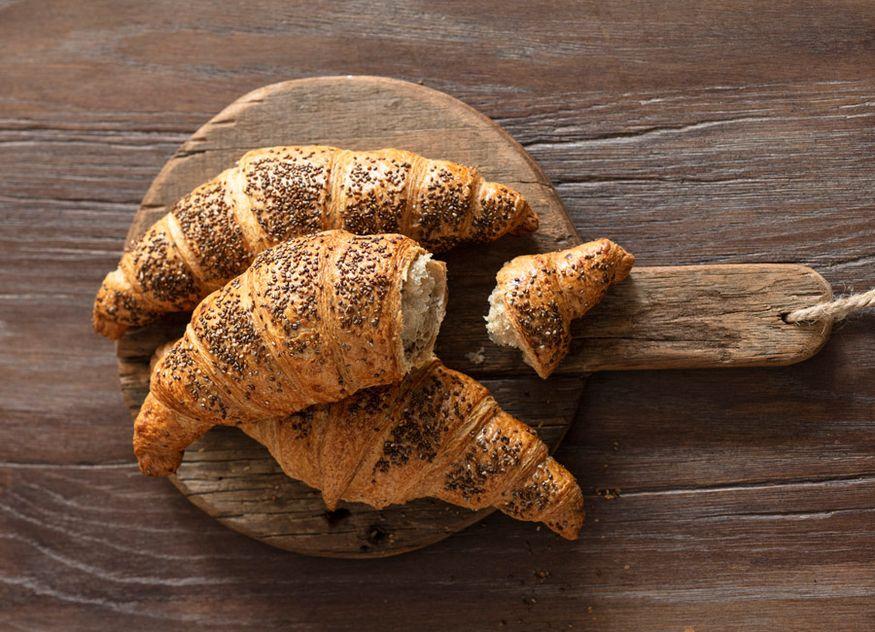 Délifrance Urgetreide Croissant Buchweizenmehl Gastronomie