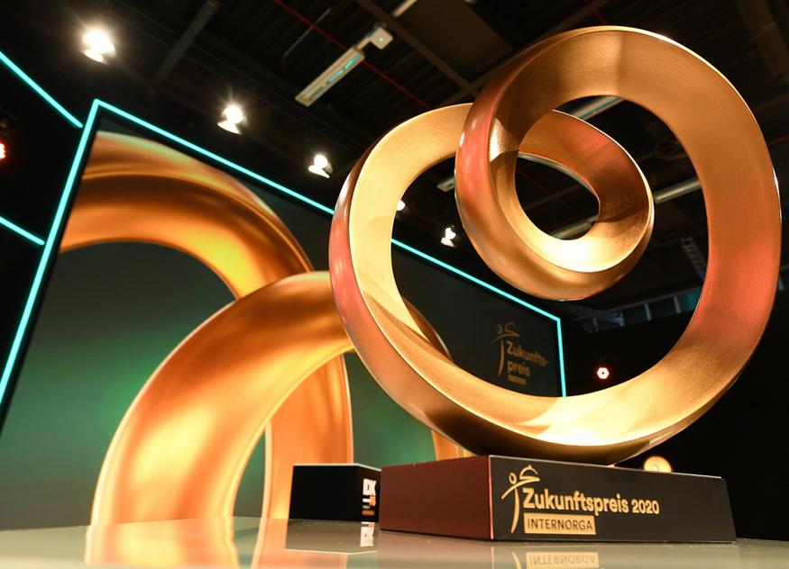 Der Internorga Zukunftspreis wird am 17. März 2022, am Vorabend der Messe, in Hamburg verliehen
