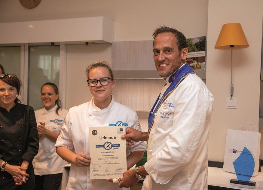 Patrycja Banaszek Euro-Toques by Dynamic Challenge Gewinnerin