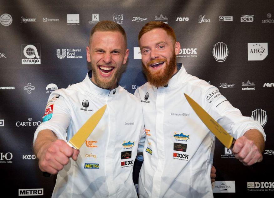 Dominik Holl Alexander Gläsel Koch des Jahres Vorfinale Gewinner Essen