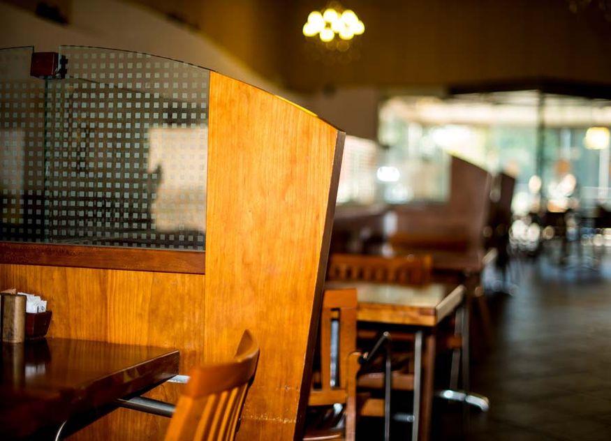 Restaurant Gaststätte leer