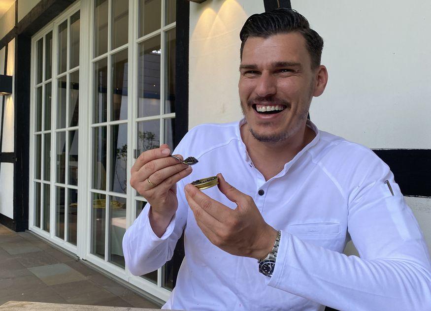 Seit 1. Oktober hat Marcus Bunzel als neuer Küchenchef das Kochzepter im Traditionshotel Rheinhotel Dreesen in der Hand