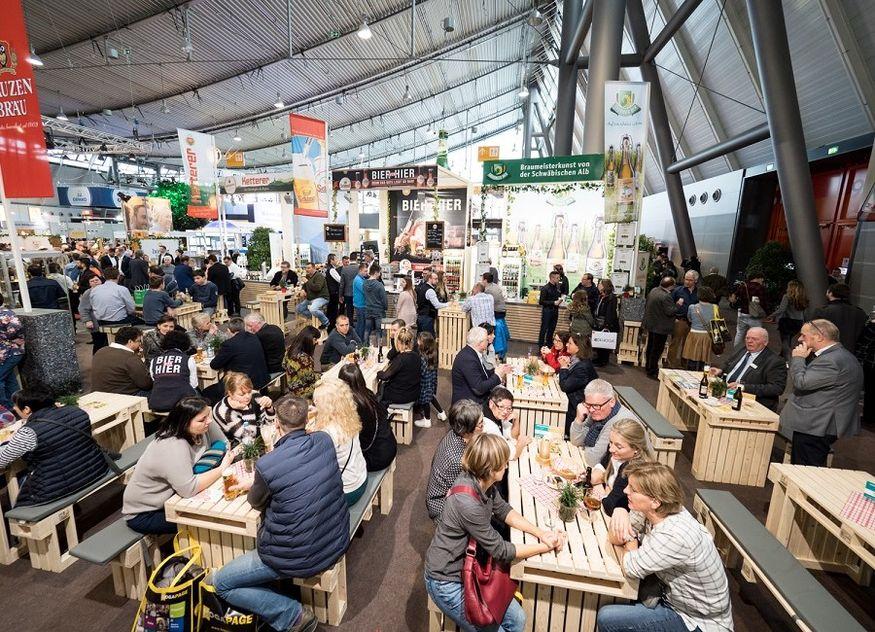 Intergastra Messe Biergarten der regionalen Vielfalt