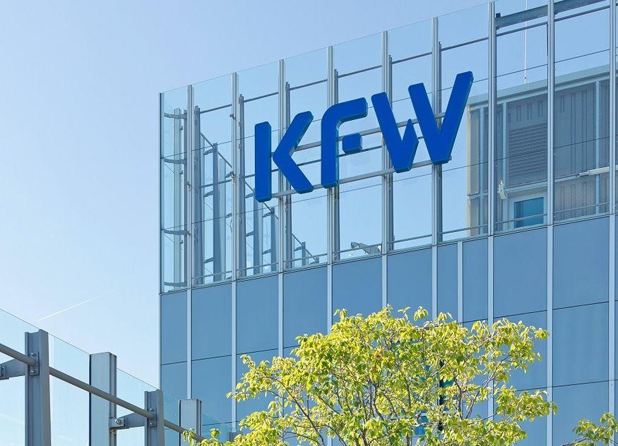 KfW Gebäude Logo
