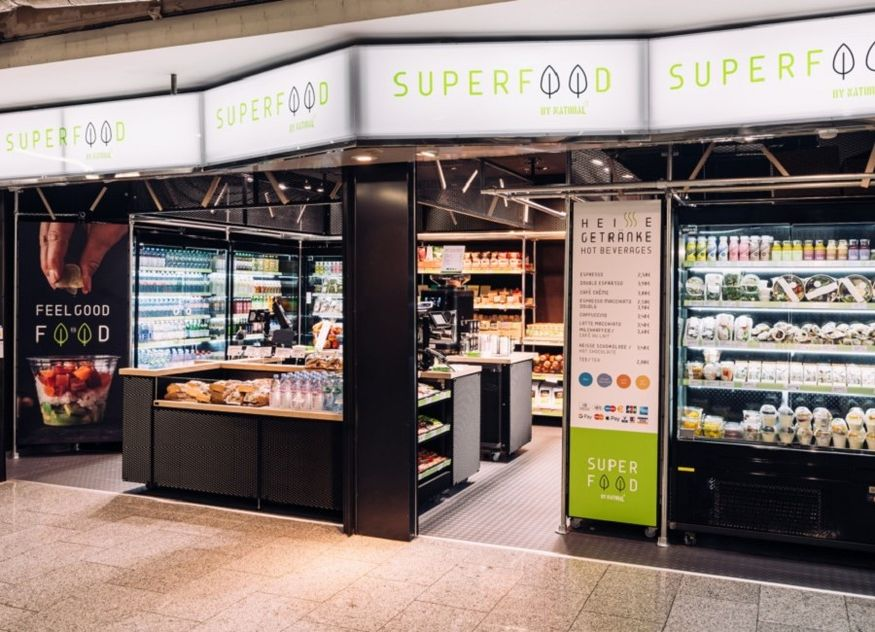 casualfood Pop-up Store Superfood by Natural Frankfurt am Main Flughafen