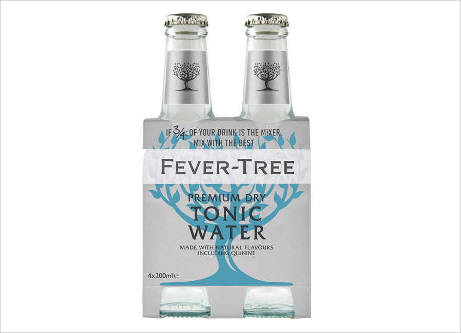 Fever Tree Gastronomie Premium Dry Tonic Water Vierer Pack Namensänderung