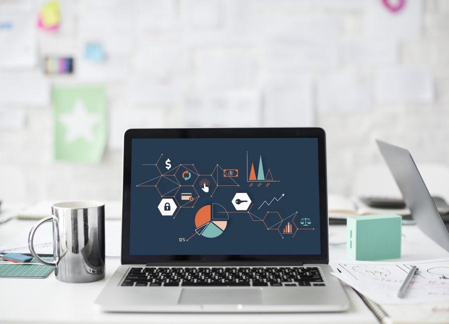 Computer Laptop digital Grafiken
