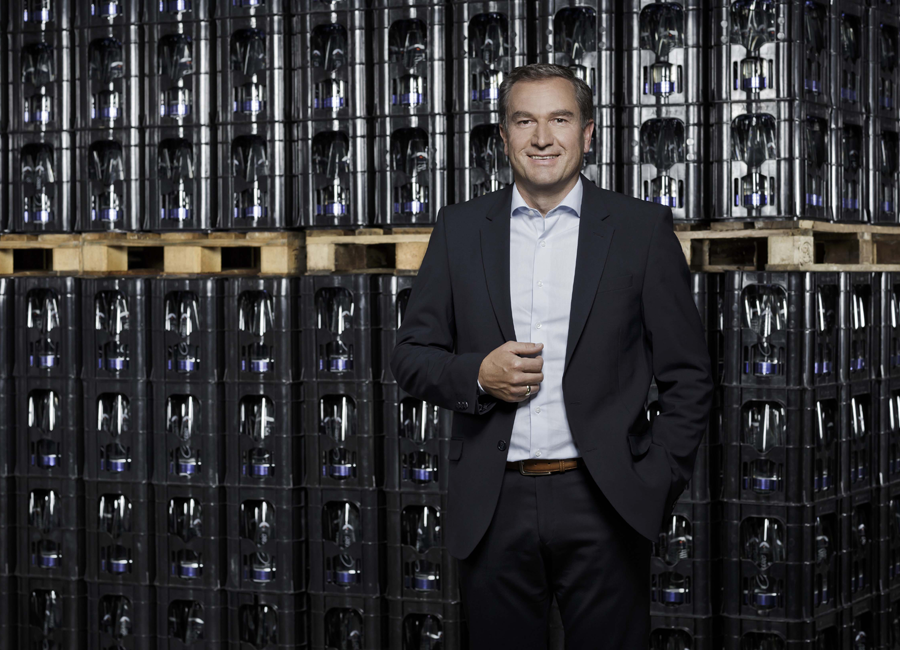 """""""Wir liefern den Gastronomen die bestmögliche Unterstützung"""", so Peter Weber, Leiter der Gastronomie bei Adelholzener"""
