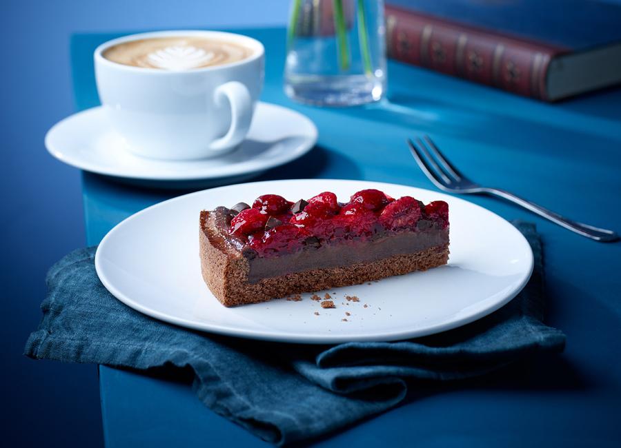 Chocolate Raspberry Cake von erlenbacher