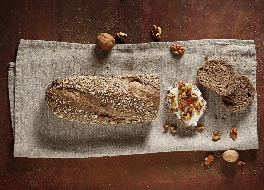 Das Walnussbaguette von Aryzta enthält Quinoa und Chia