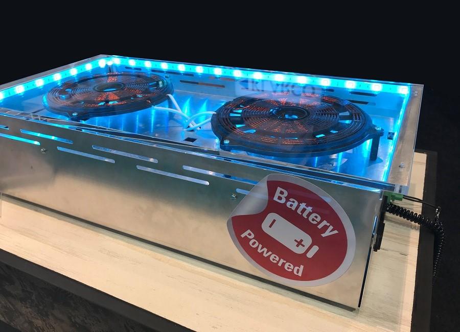 Gastros Switzerland Batterie Induktion Platte
