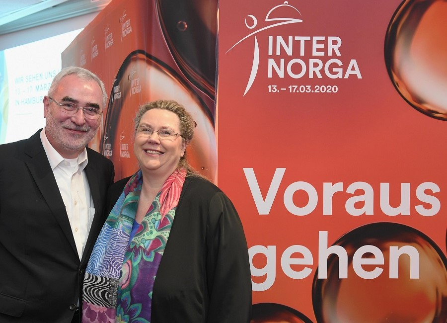Bernd Aufderheide Karin Tischer Internorga