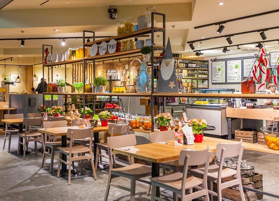 Marche Restaurant Leipzig Halle Stühle Tische