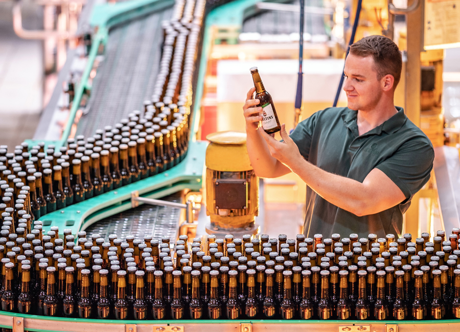 Veltins Gastronomie Jahrhundertsommer Brauerei Dynamik obs