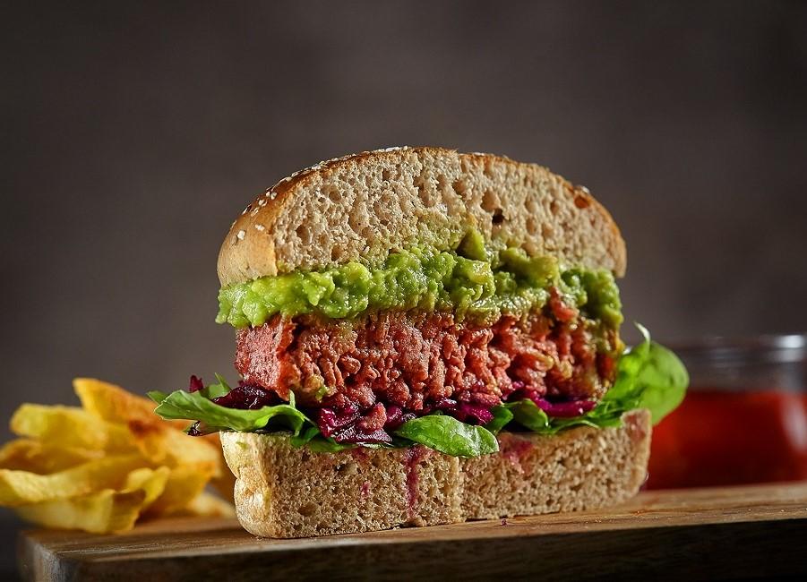 Transgourmet veganer Burger Patty