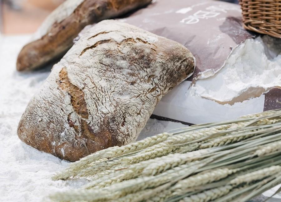 Brot Getreide Mehl