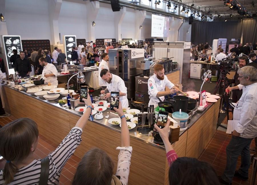 Koch des Jahres Publikum Zuschauer Köche