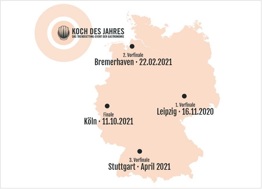 Koch des Jahres Grafik Reihenfolge Vorfinals