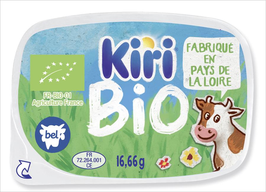 Bel Foodservice reagiert mit dem neuen Frischkäse Kiri Portion Bio auf die steigende Nachfrage nach Bio-Produkten
