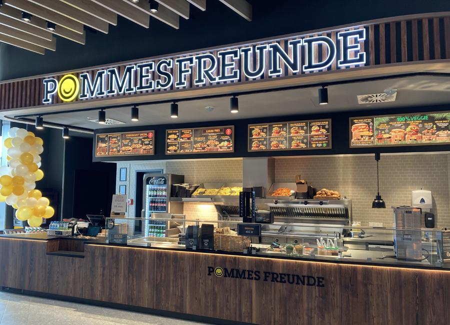 In Singener Einkaufszentrum Cano eröffnete Pommes Freunde in diesem Jahr einen neuen Store (im Bild). Die Niederlassung ist eine von mindestens 15 Neueröffnungen, die das Unternehmen derzeit für 2021 plant.