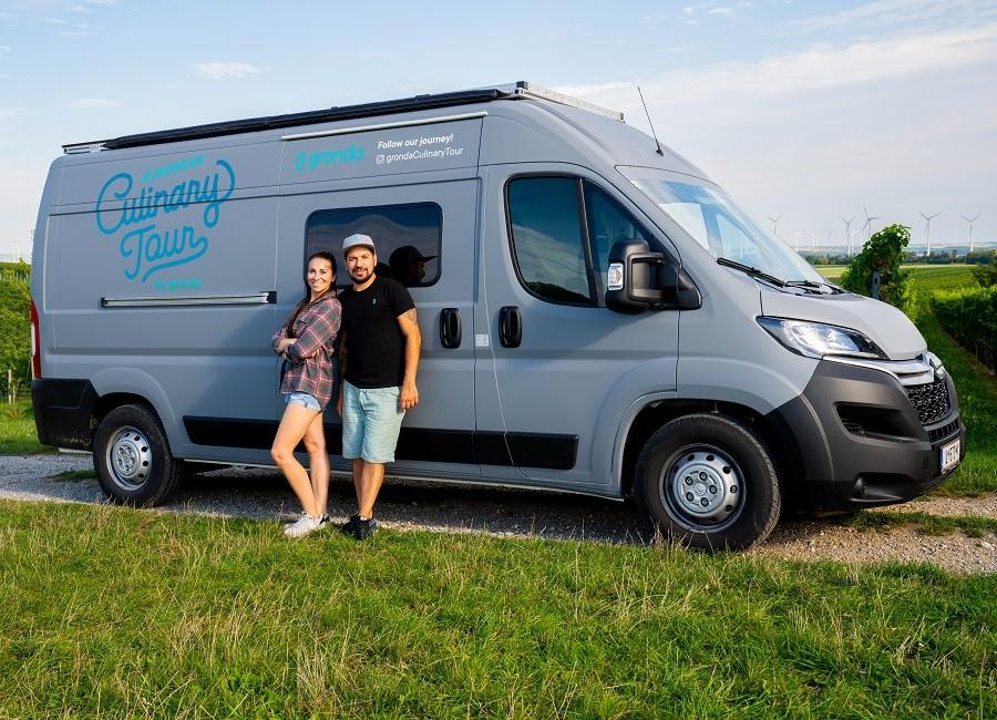Gronda European Culinary Tour Team Bus